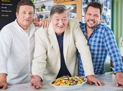 Jamie and Jimmy's Food Party Staffel 07 Folge 7: Stephen Fry
