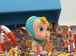 Arpo Staffel 01 Folge 11: Die große Baby Süßigkeiten Verfolgungsjagd!!!
