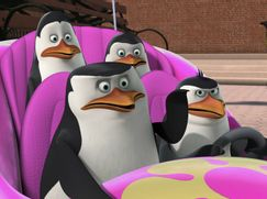 Die Pinguine aus Madagascar Staffel 01 Folge 8: Zookreuzer / Würg, Rico, würg!