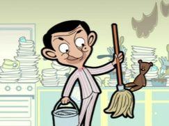 Mr. Bean - Die Cartoon-Serie Staffel 01 Folge 6: Frühlingsputz