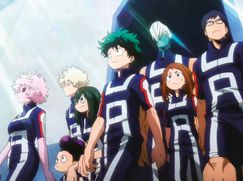 My Hero Academia Staffel 01 Folge 14: So sieht's aus, Ochako
